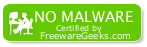 Certified by FreewareGeeks.com
