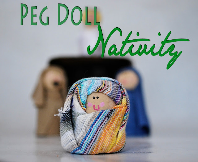 nativity Peg Doll Nativity