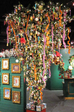 adorned abode archive: Tree Trend: Upside Down