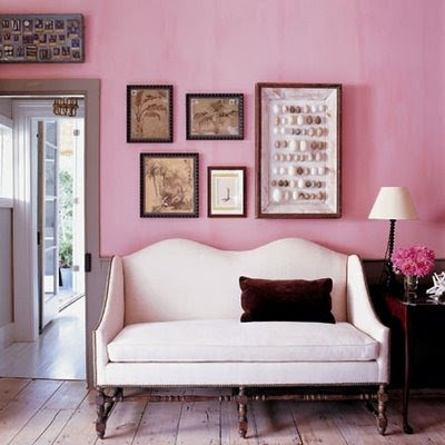 urban flip flops: A pink room makes me happy