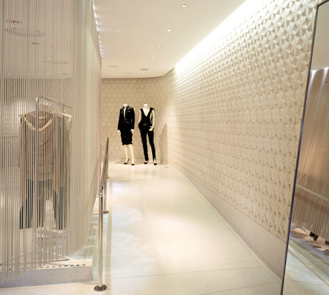 Stella mccartney new york by universal design studio a f for Universal interior designs
