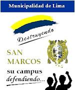 Símbolo de defensa de la UNMSM ante la agresión de la Municipalidad de Lima