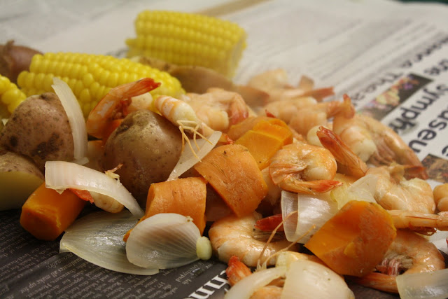 Kaleidoscope adventures low country boil