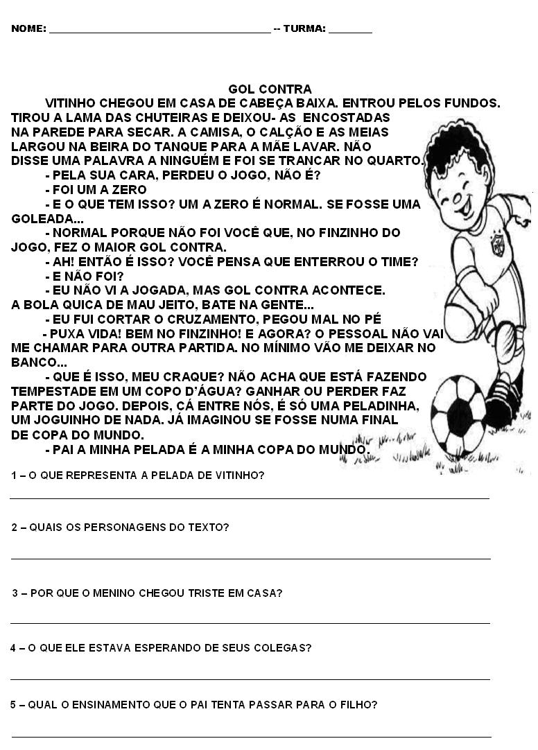 COPA DO MUNDO   Interpreta    O De Texto