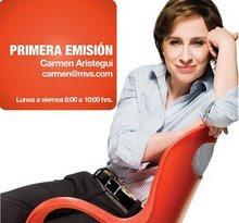 Ve todos los dias a Carmen Aristegui en vivo, por Resiste Acapulco