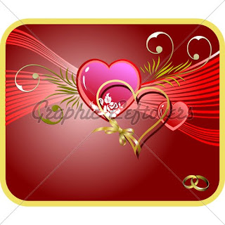 valentines day vector illustrations