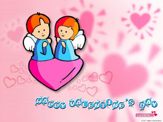 kids wallpaper on valentines day