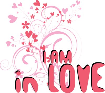 I Am In Love Wallpaper
