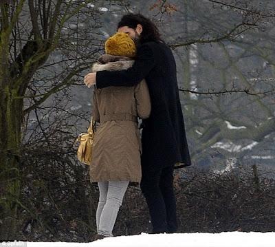 couple enjoying valentine smooch