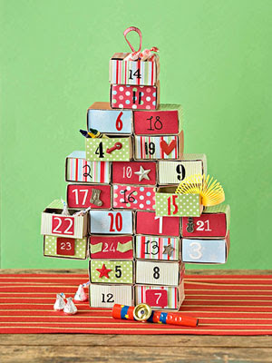973 third avenue make your own advent calendar for Make your own chocolate advent calendar