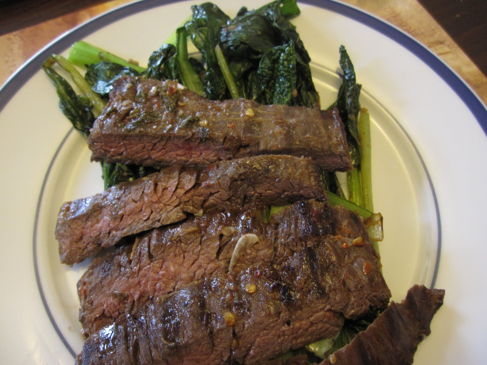 Lime, Ginger & Chili Marinated Skirt Steak - Recipes4EveryKitchen