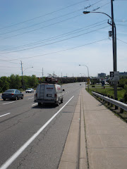 New Fairview bike lane - May 09
