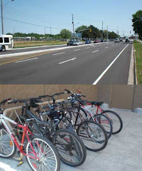 Wishful thinking.  Who bikes to Walmart???