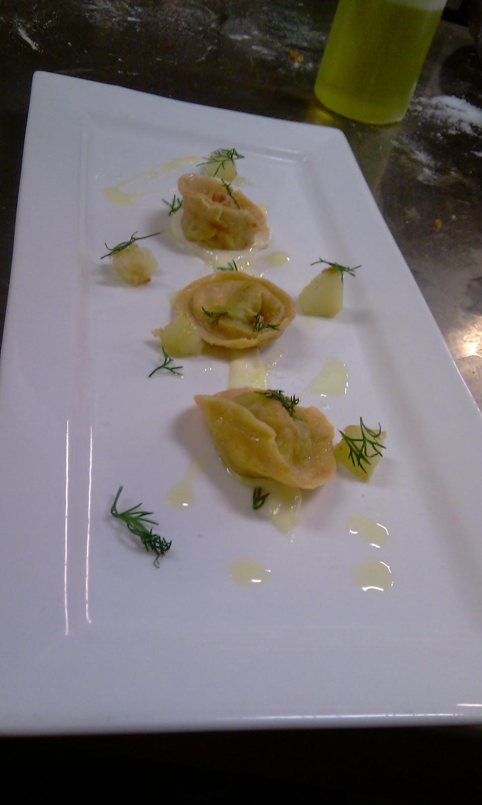 ... Goat Cheese. On Lemon Aioli with Patatas Bravas and Fresh Dill