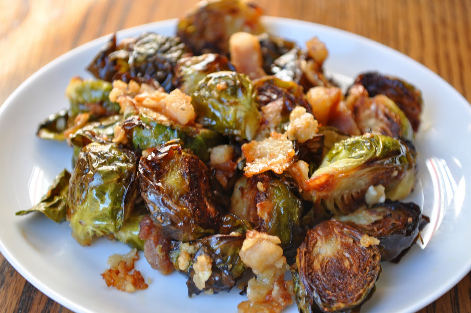 Pancetta Roasted Brussel Sprouts - Cooking With Michele®