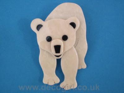 Lea Stein polar bear