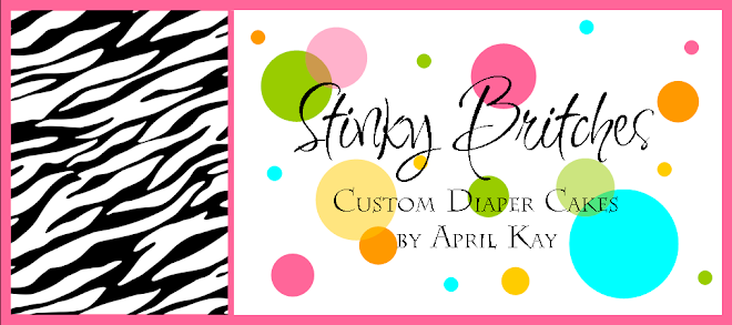 Stinky Britches Diaper Cakes