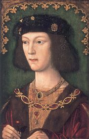 King Henry VIII at the age of 18, during his coronation