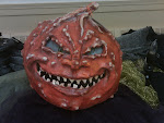 Giant Warty Jack O Lantern