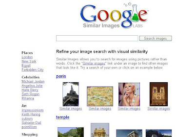 Google Lab Similar Image