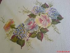 Rosas com Hortências....