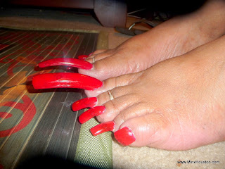 After Having Dinner With Ayanna The Other Night We Did That Video And I Took These Pics Per Your Requests Here Are S Toe Nails
