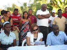 CABILDO E IDAC INICIAN CONSTRUCCION MURO AL RIO NIGUA
