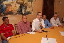 LUIS ABINADER PIDE VOTO DE CASTIGO Y APOYAR A LOS CANDIDATOS DEL PRD