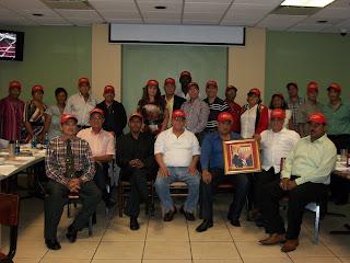 DIRIGENTES DEL PRSC EN PUERTO RICO RESPALDAN A MORALES TRONCOSO