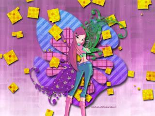 картиночки winx club и сейлор мун и игра макияж для девочек!