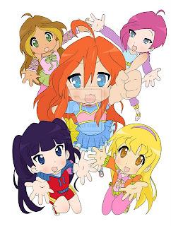 Феи винкс поддержите клуб sailor stars и игра для девочек!
