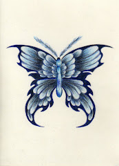 """Blu Butterfly"" by Kelly Lewis"