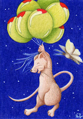 """""""Lift Off"""" ACEO - SOLD"""