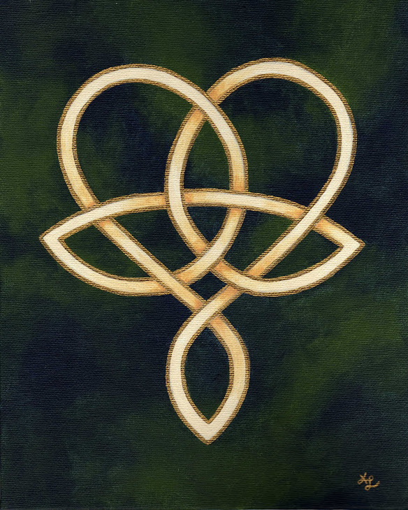 Trinity Heart painting