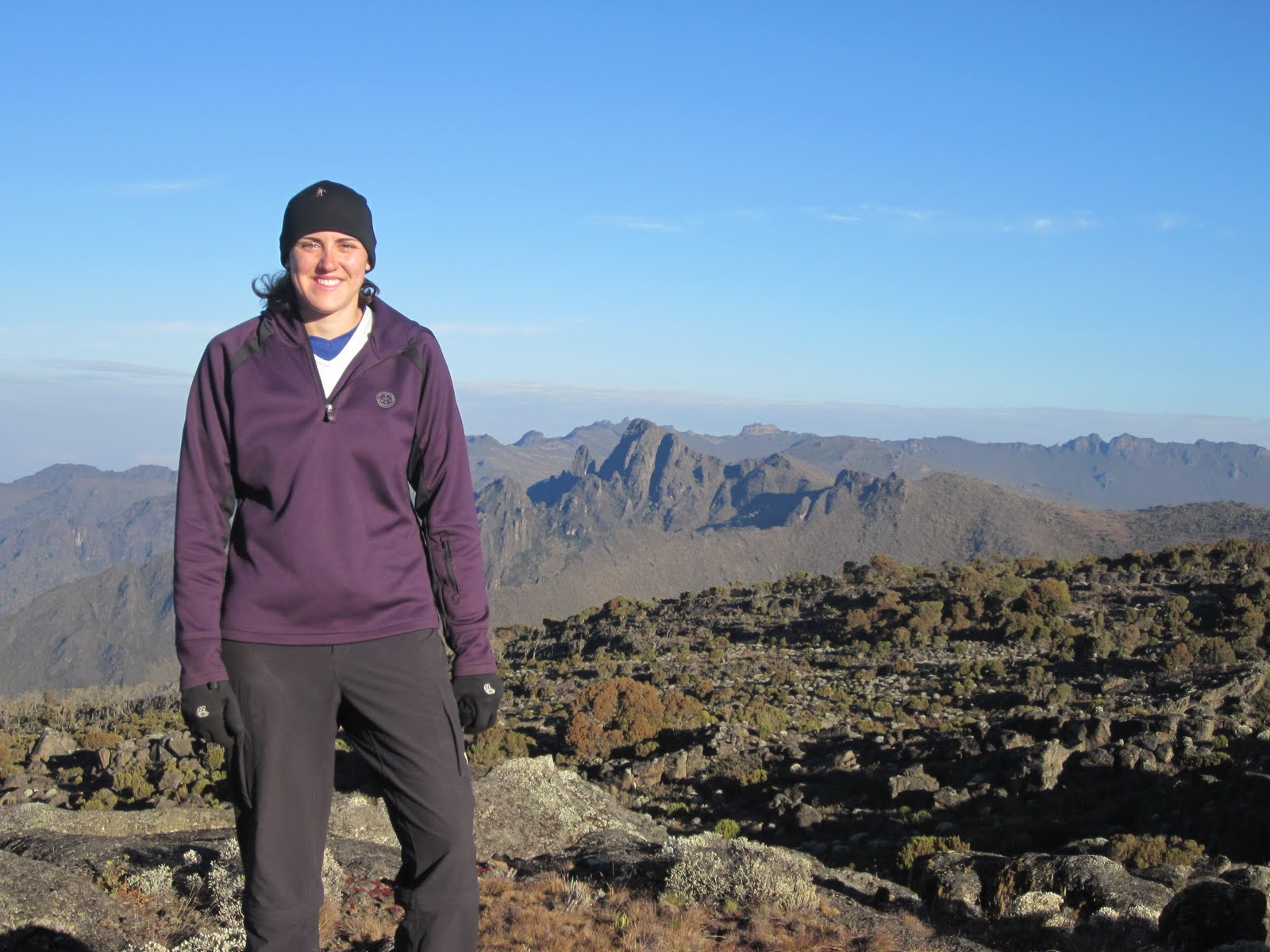 Around the world in 2010 konquering kili part 2 machame whiskey route - Sarah dray ...