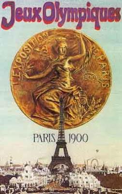 Logo da Olimpíada Paris 1900