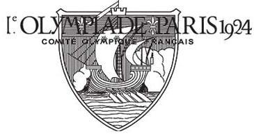 Logo da Olimpíada Paris 1924