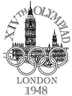 Logo da Olimpíada Londres 1948