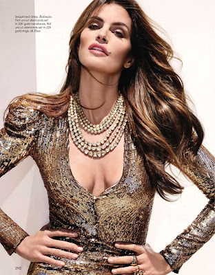 CoCo Celine: Cindy Crawford for Vogue India October 2010 ...