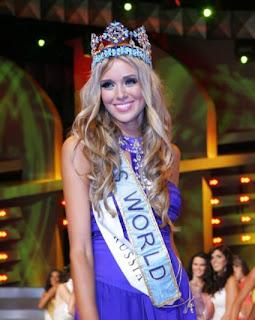 Kseniya Sukhinova Miss Mundo 2008