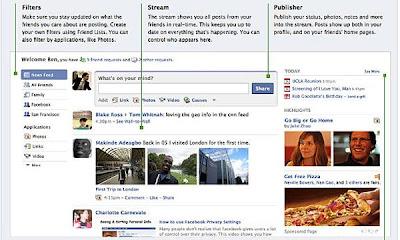 Facebook estrena hoy cambios en su diseño
