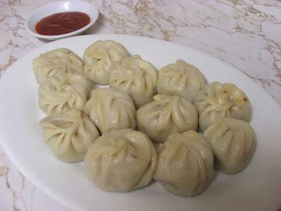 Nepalese-style Steamed Dumplings (Momo)