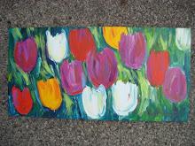 Noel Skiba Spring Tulips