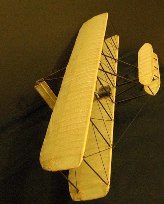 Hand made wright Airplane