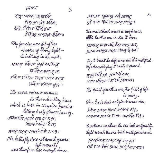Essay of rabindranath tagore