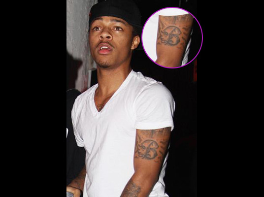Bow Wow Tattoos Bow Wow's shoulder and arm tattoos. tattoo bow