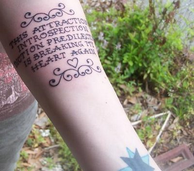 Tattoos With Quotes - Tattoos - Zimbio