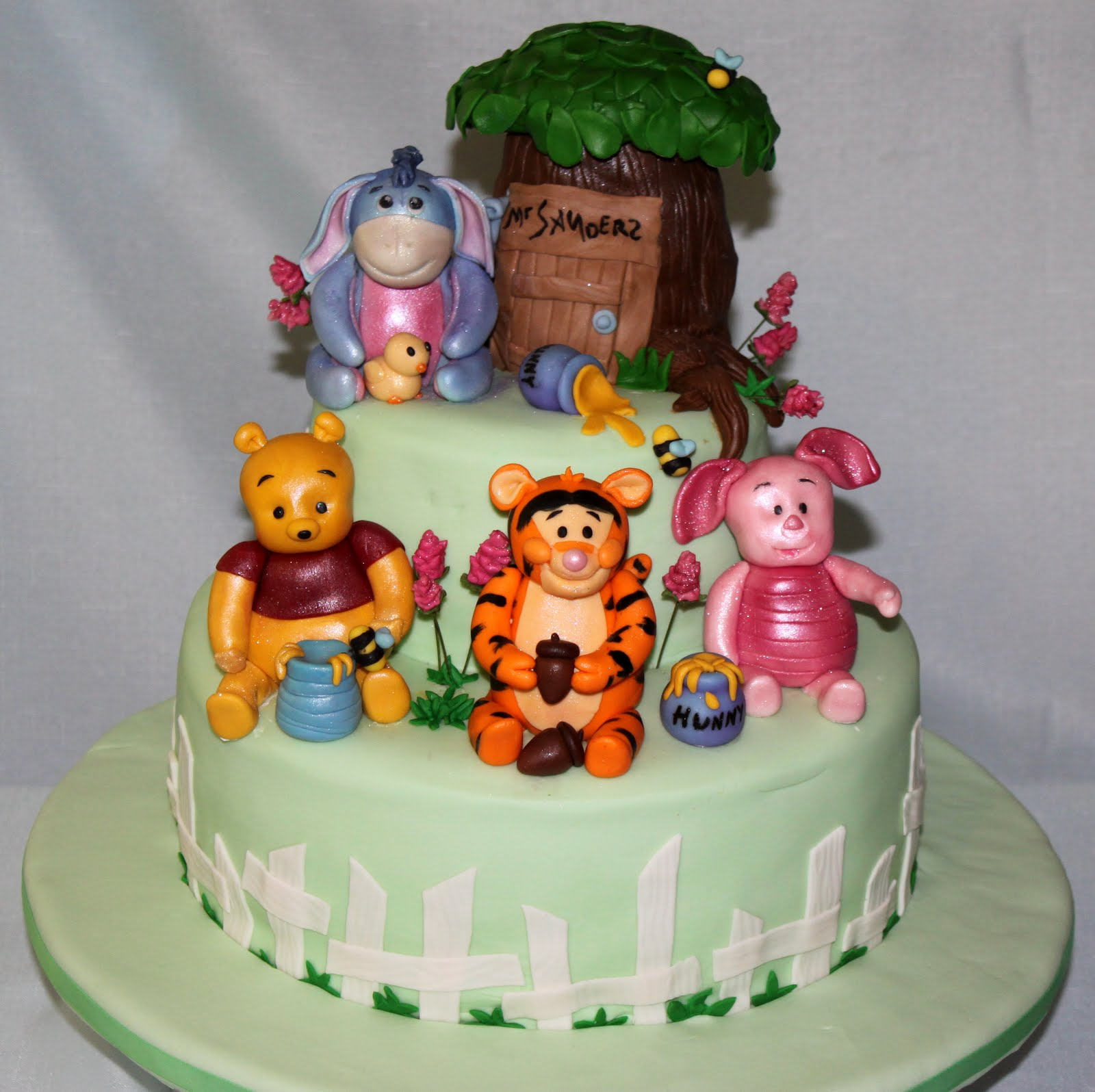 amazing grace cakes winnie the pooh baby shower