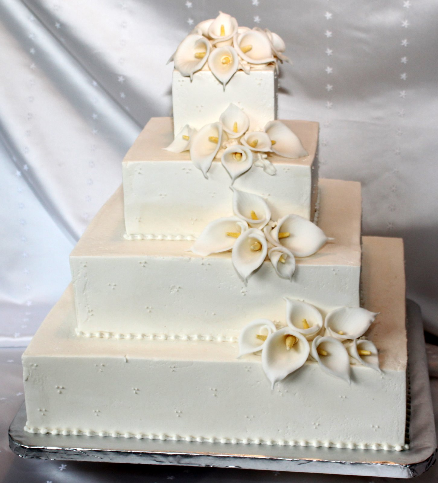 amazing fondant wedding cakes