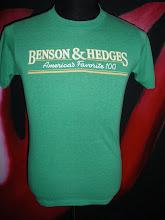 Vtg Benson & Hedges